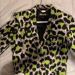 Just Cavalier green blazer